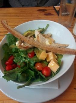 Finally! Vegetables... @ Bruncheria, our favorite cafe