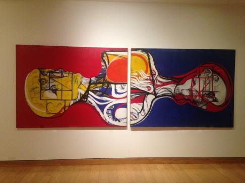 Cool art at Ferreyra Palace museum