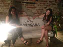 Kelly and I at Chabacana