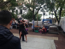 Tango in San Telmo square