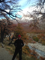 Ryan in front of Fitz Roy