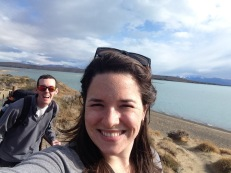 Ryan and I at Lago Argentino