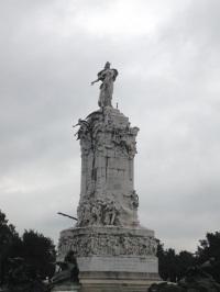 Monumento de los Espanoles in Palermo
