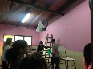 We painted 6 classrooms