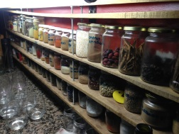 So many spices! Closed door dinner