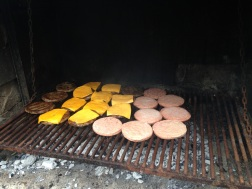 Burgers for lunch - yes please!