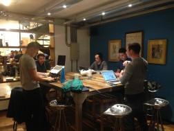Our last day in La Maquinita coworking space
