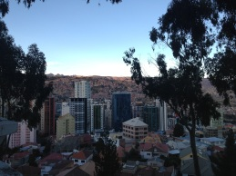 Hello, La Paz! From the lookout