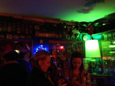 Welcome party at La Costilla