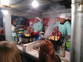 Street food tour: anticuchos