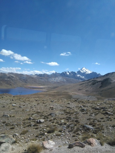 Drive to Chacaltaya