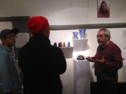 Touring ceramicist Mario Serabia's studio