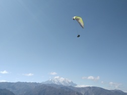 This isn't me, but paragliding!