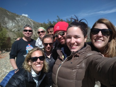 The paragliding crew (and our supporters): Andy, Ella, Abe, Diane, Kate, Brecht, me, Arestia