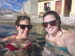 Arestia and I at the hot springs