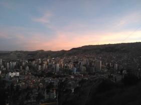 Killi Killi overlooking La Paz