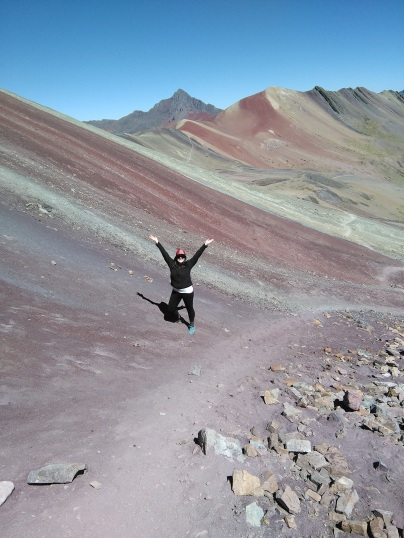 We made it to Rainbow Mountain!