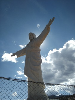Cristo Blanco overlooks the city of Cusco