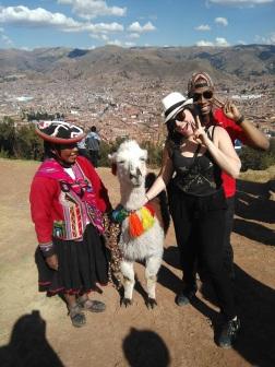 Llama selfie!