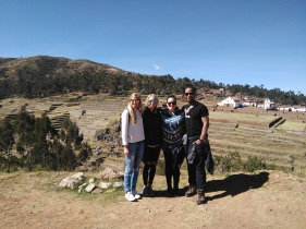 Start of our Sacred Valley day