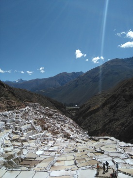 Salt pools at Maras