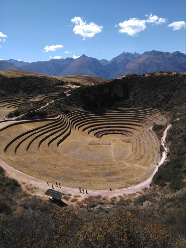 Moray - an Inca greenhouse
