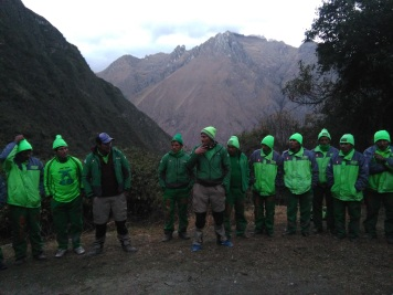 "Our ""Green Machine"" porters"