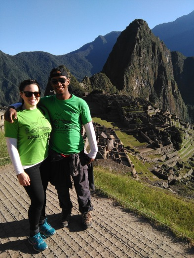 Sean and I at Machu Picchu