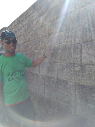 Marvelling at Inca walls