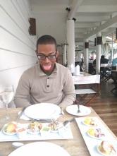 Ceviche, finally! At La Rosa Nautica