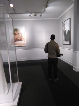 Sean in the Princess Diana room at MATE