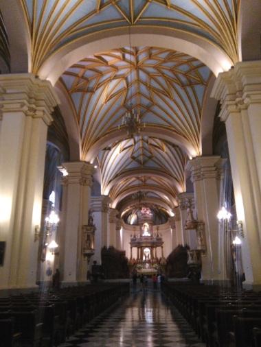 San Francisco church, made entirely of wood
