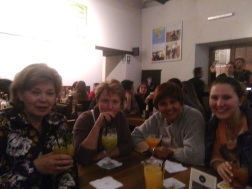 Girls' night at Museo del Pisco