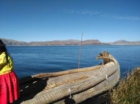 Lake Titicaca, floating islands