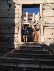 Holding up Acropolis walls