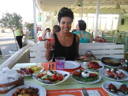 """Our """"Santorini Experience"""" dinner"""