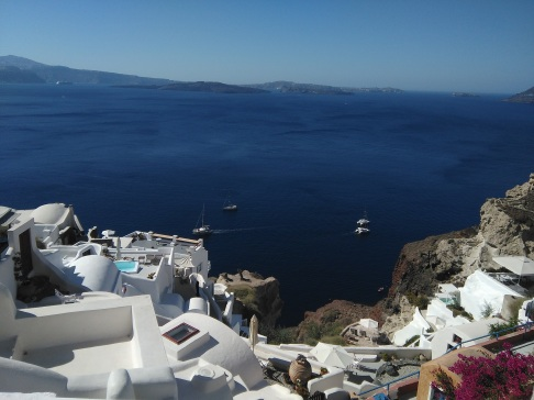 Back in Oia
