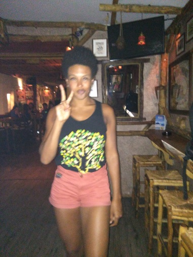 At Murphy's bar in Fira