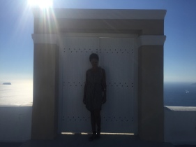 One of the many Santorini doors to nowhere