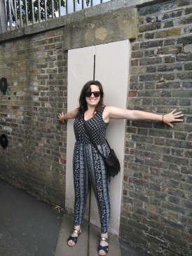 The Prime Meridian in Greenwich