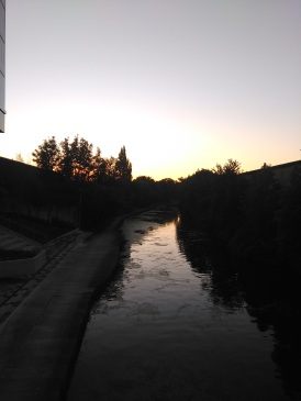 Sunset over the canal by The Collective
