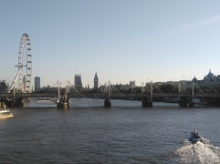 The Thames & The London Eye