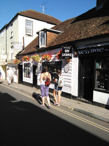 Arundel town was super cute