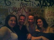 Half of PTY crew - me, Eric, Jason, Miranda