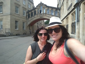 Bridge of Sighs, Oxford (Miranda and I)