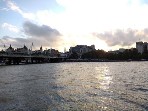 London sunsets
