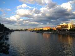 Beautiful views of the Vltava