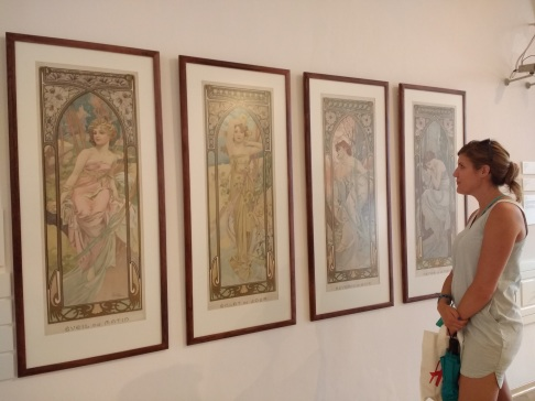 Arestia at the Mucha Museum