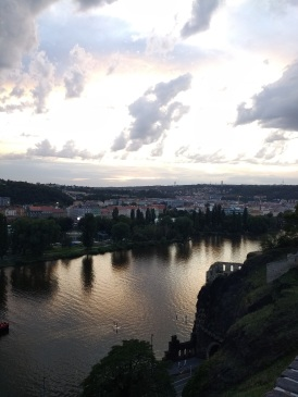 And over the Vltava