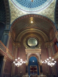 Spanish Synagogue, inspired by the Alhambra